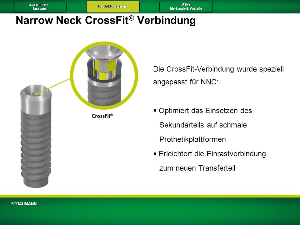 Narrow Neck CrossFit® Verbindung