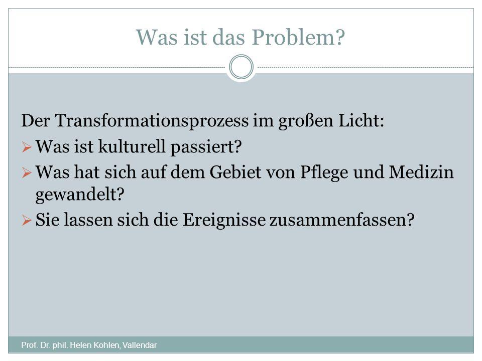 Was ist das Problem Der Transformationsprozess im großen Licht: