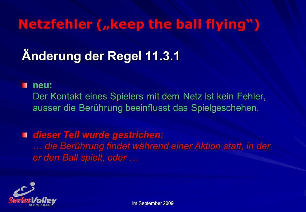 """Netzfehler (""""keep the ball flying )"""