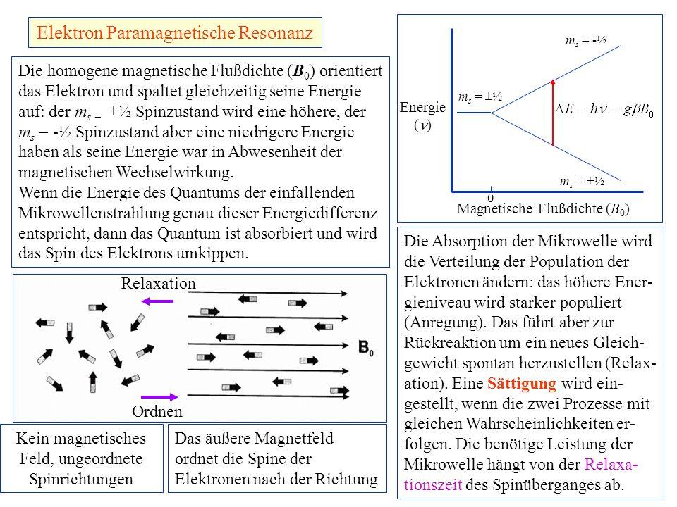 Elektron Paramagnetische Resonanz