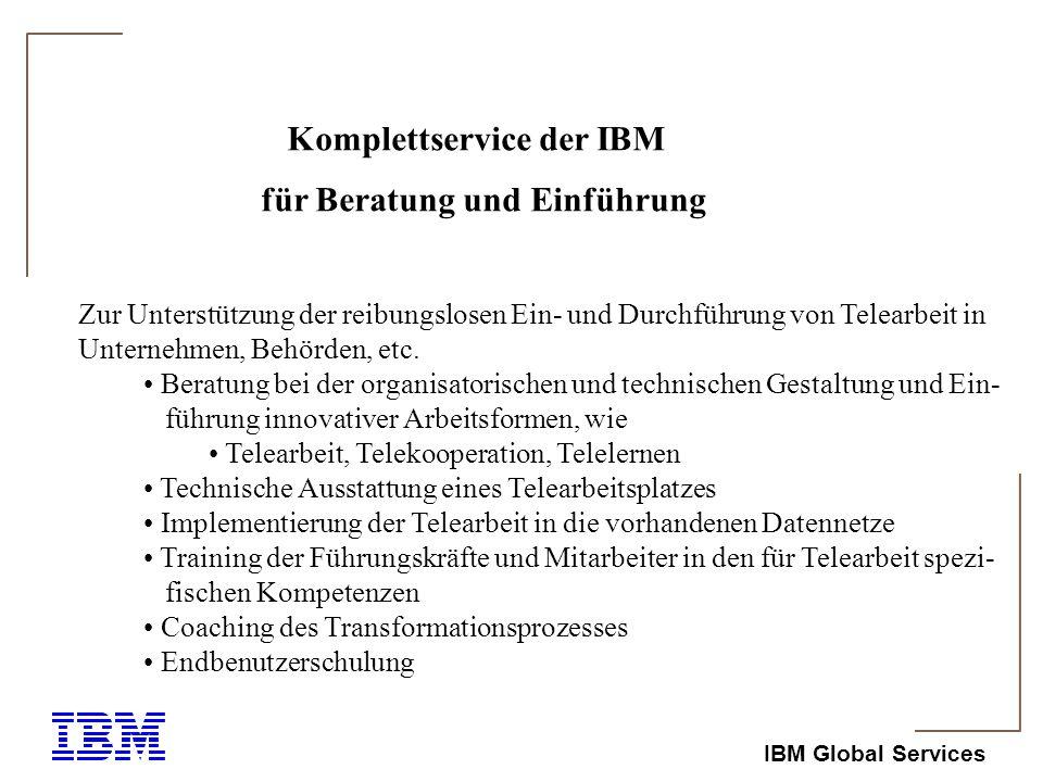 Komplettservice der IBM
