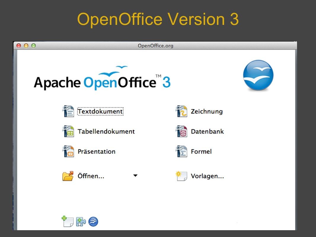 OpenOffice Version 3