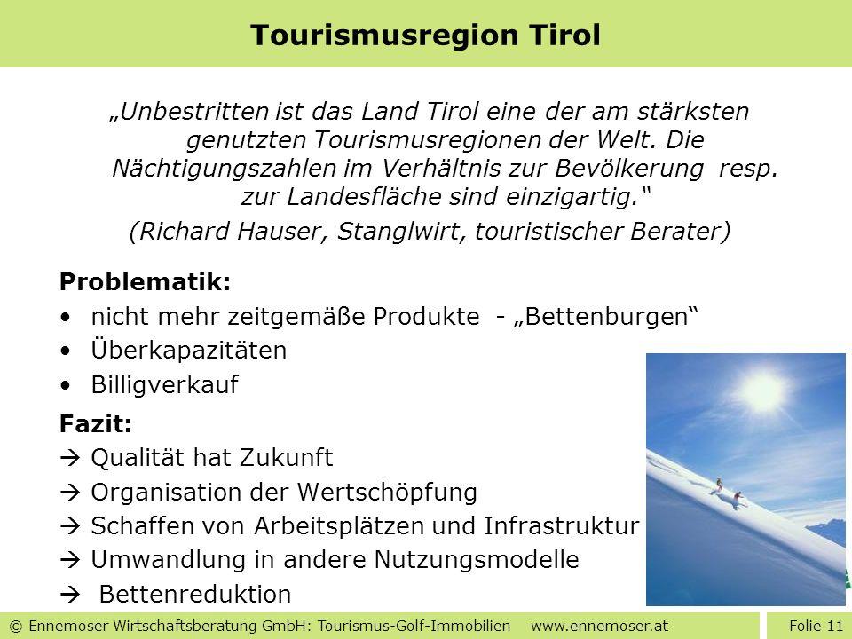 Tourismusregion Tirol