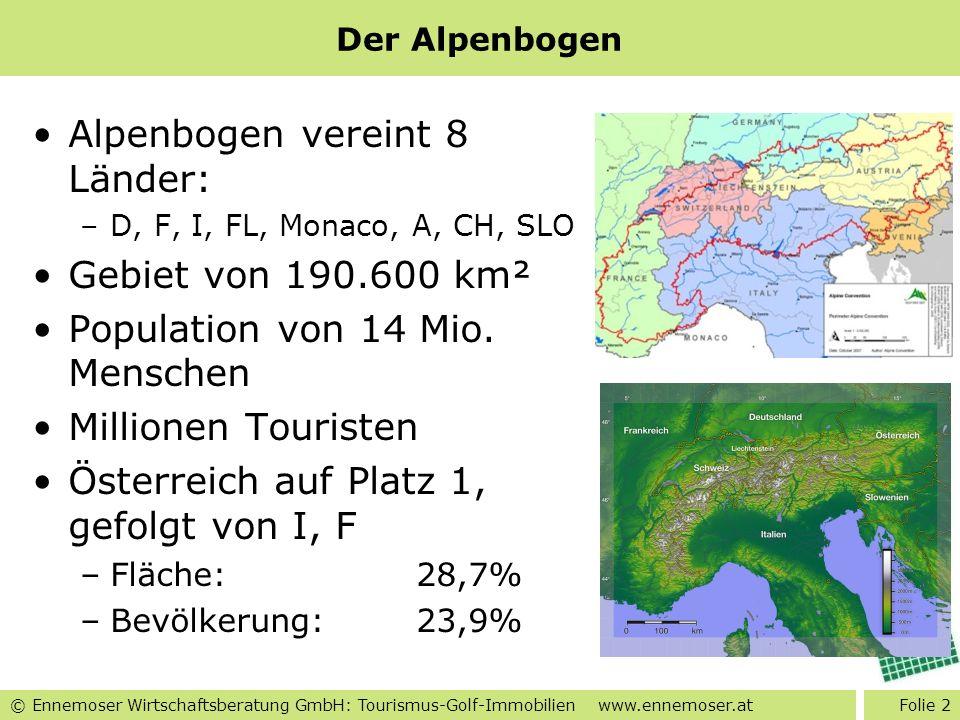 Alpenbogen vereint 8 Länder: