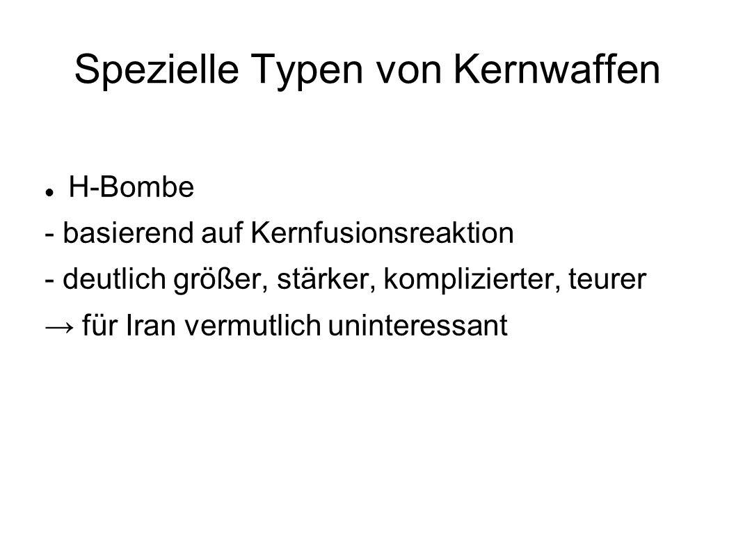 Spezielle Typen von Kernwaffen