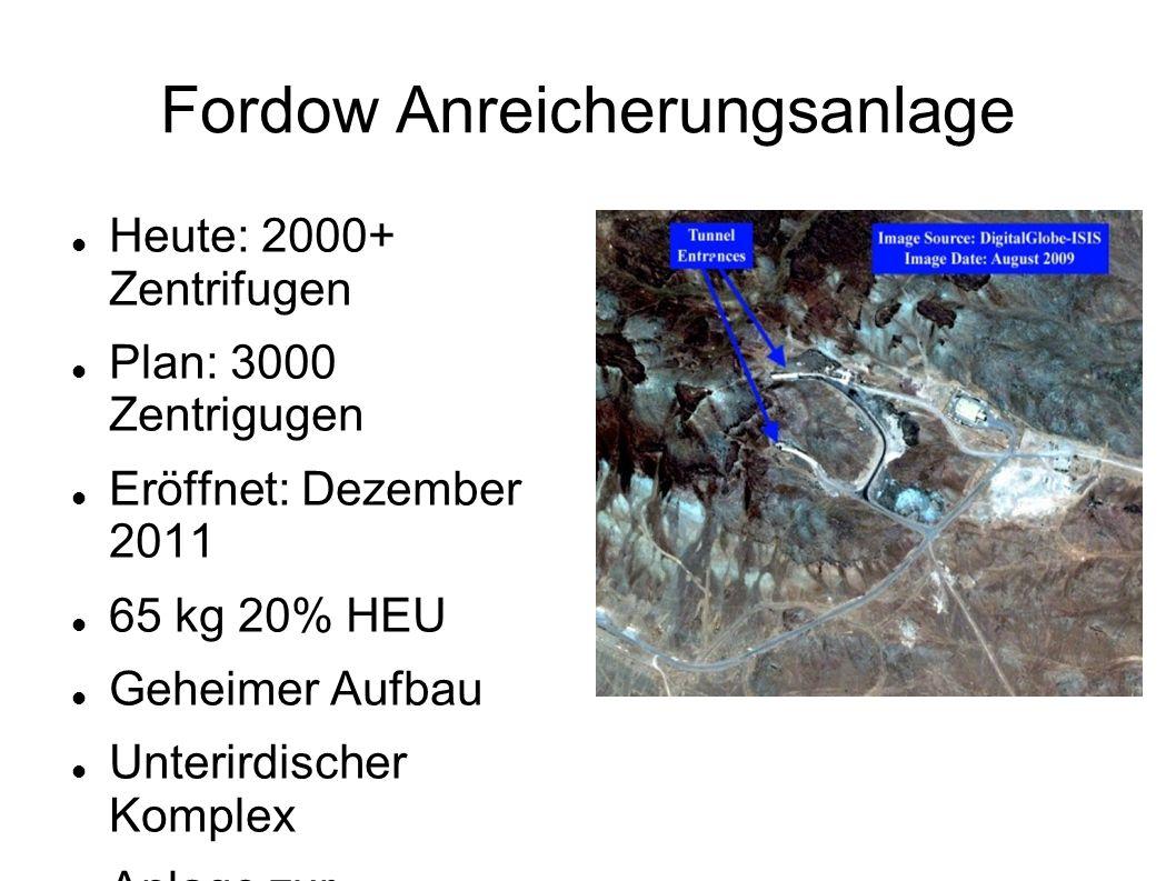 Fordow Anreicherungsanlage