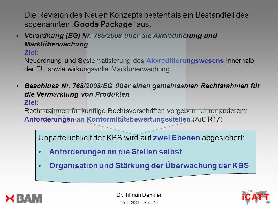 Unparteilichkeit der KBS wird auf zwei Ebenen abgesichert: