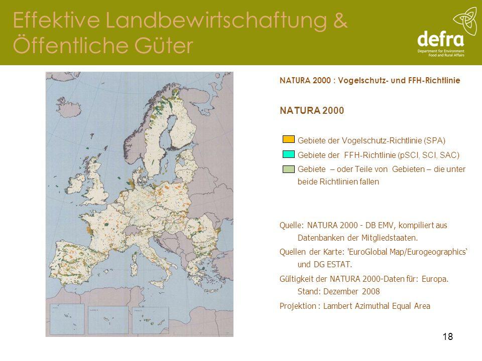 Effektive Landbewirtschaftung & Öffentliche Güter
