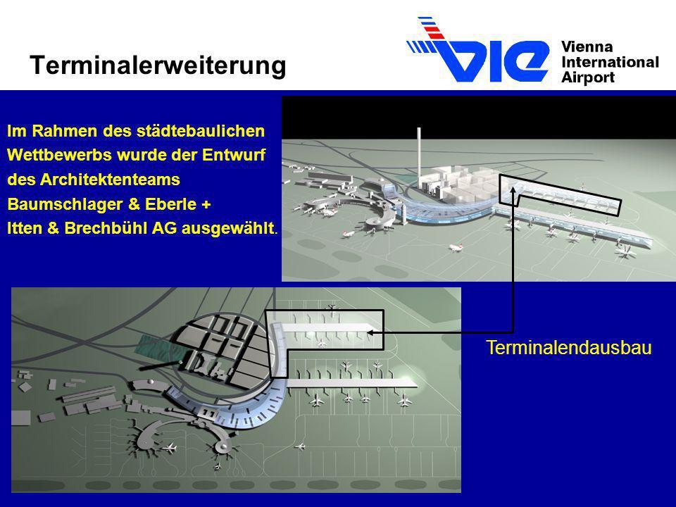 Terminalerweiterung Terminalendausbau Im Rahmen des städtebaulichen