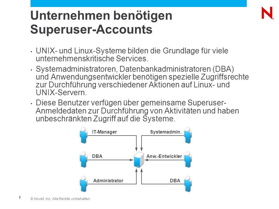 Unternehmen benötigen Superuser-Accounts