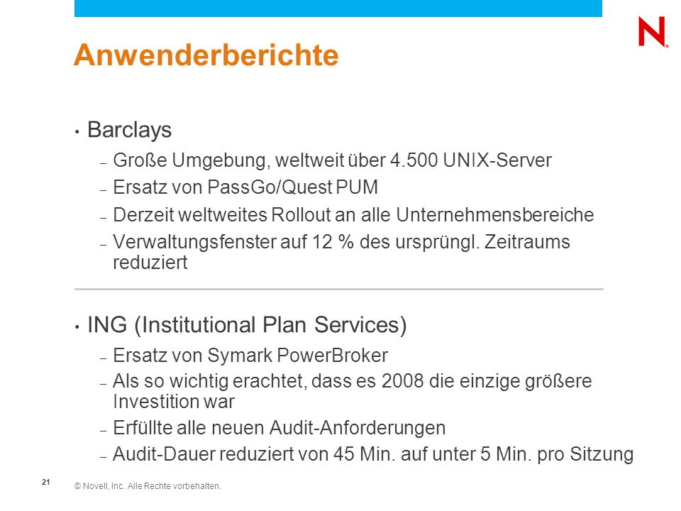 Anwenderberichte Barclays ING (Institutional Plan Services)