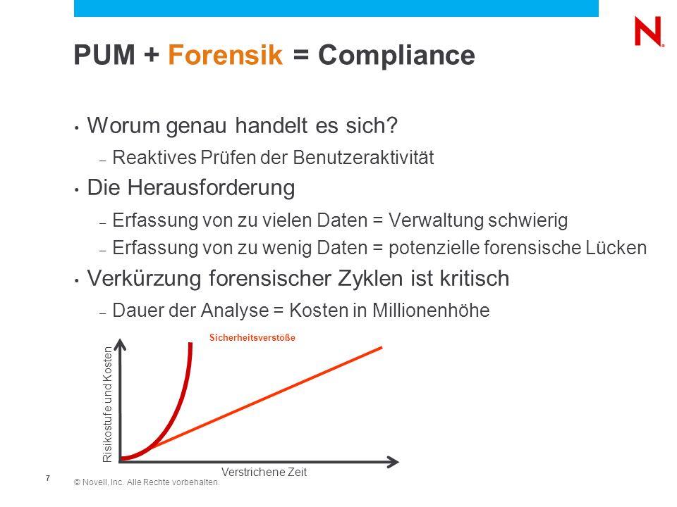 PUM + Forensik = Compliance