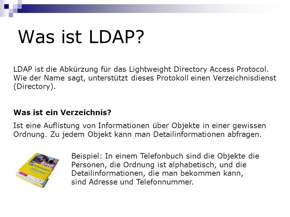 Was ist LDAP