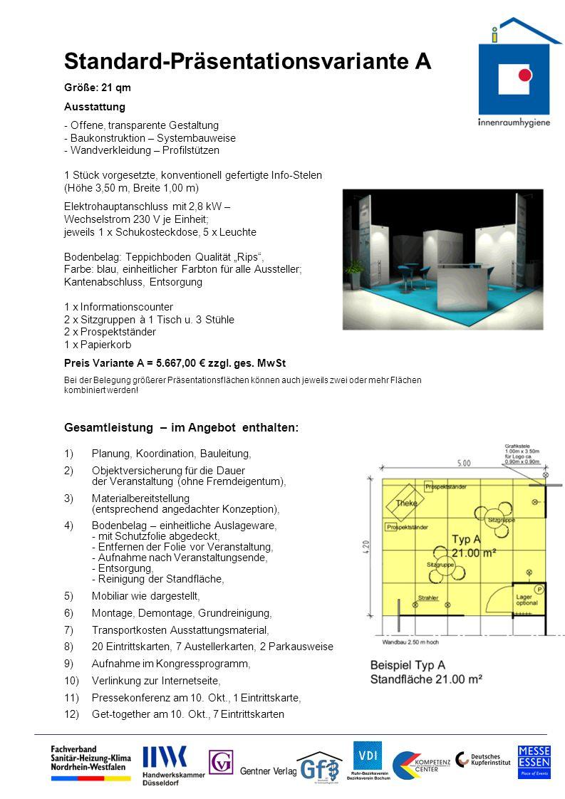 Standard-Präsentationsvariante A