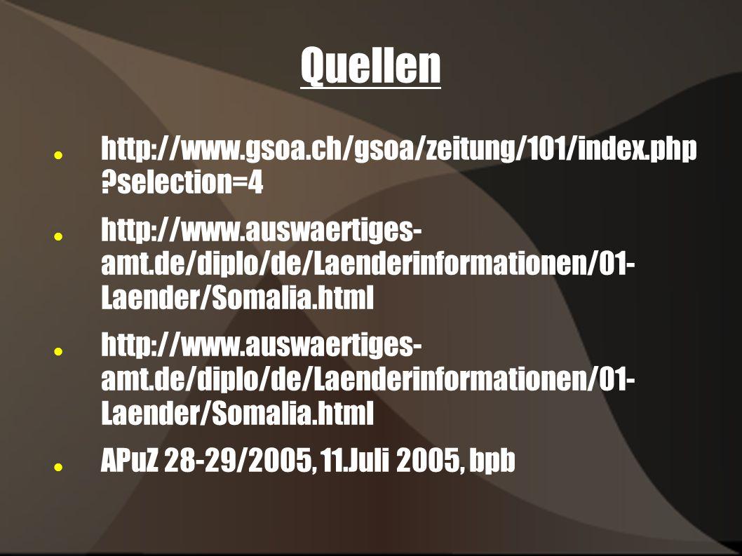 Quellen http://www.gsoa.ch/gsoa/zeitung/101/index.php selection=4