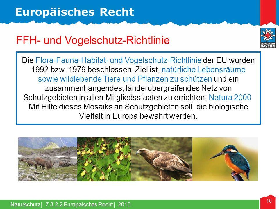 FFH- und Vogelschutz-Richtlinie