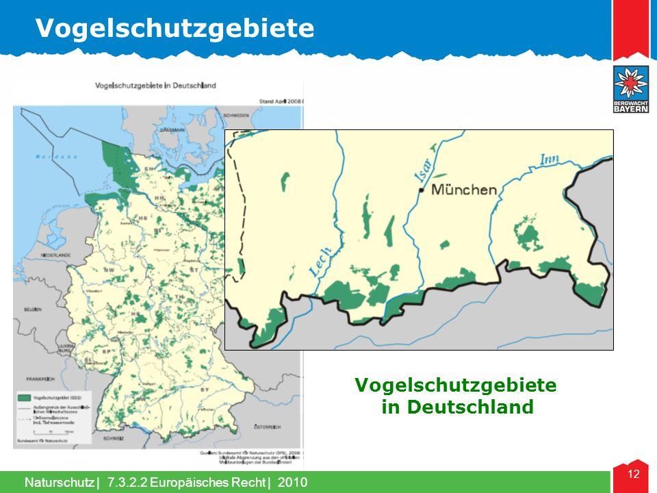 Vogelschutzgebiete Vogelschutzgebiete in Deutschland