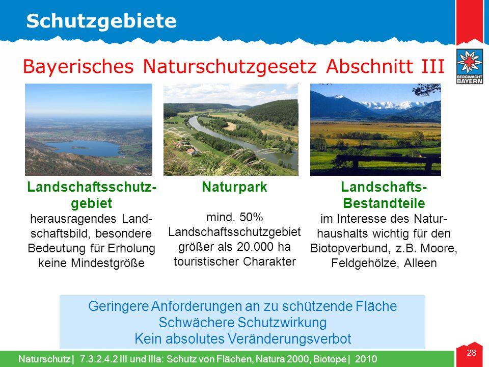 Landschaftsschutz- gebiet