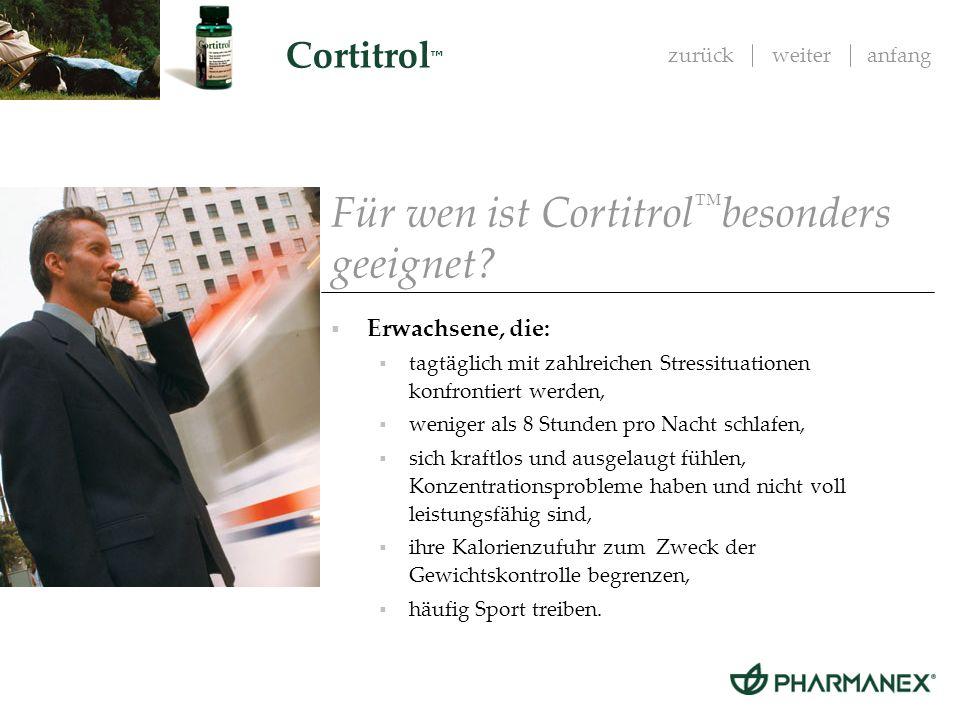 Für wen ist Cortitrol™besonders geeignet