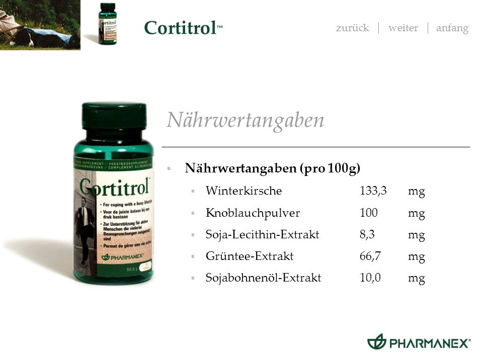 Nährwertangaben Nährwertangaben (pro 100g) Winterkirsche 133,3 mg
