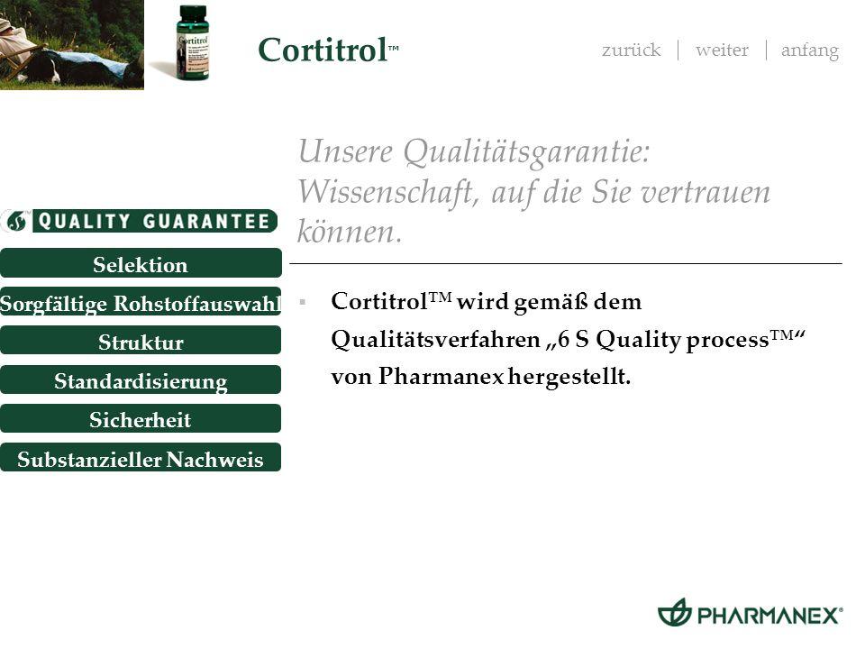 Unsere Qualitätsgarantie: Wissenschaft, auf die Sie vertrauen können.
