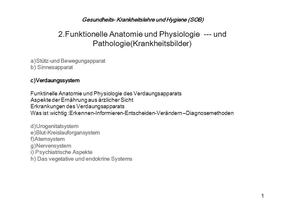 Gesundheits- Krankheitslehre und Hygiene (SOB) - ppt video online ...