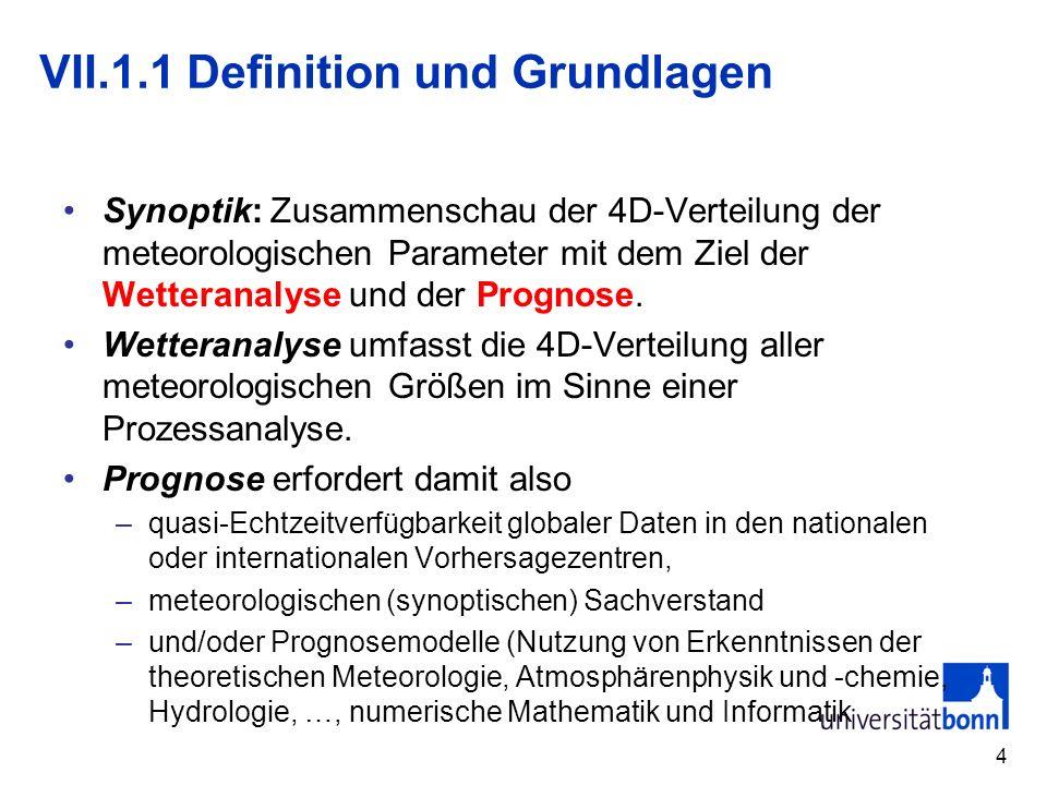 VII.1.1 Definition und Grundlagen