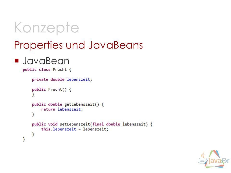 Properties und JavaBeans