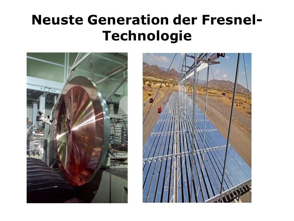 Neuste Generation der Fresnel-Technologie