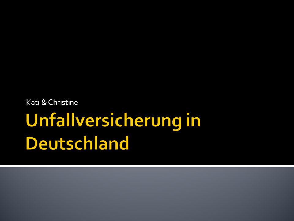 Unfallversicherung in Deutschland