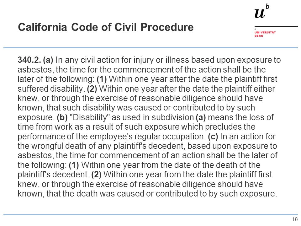 California Code of Civil Procedure