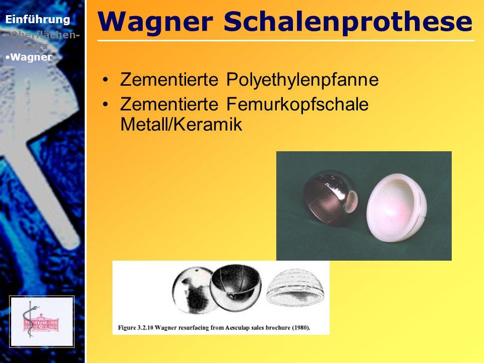 Wagner Schalenprothese