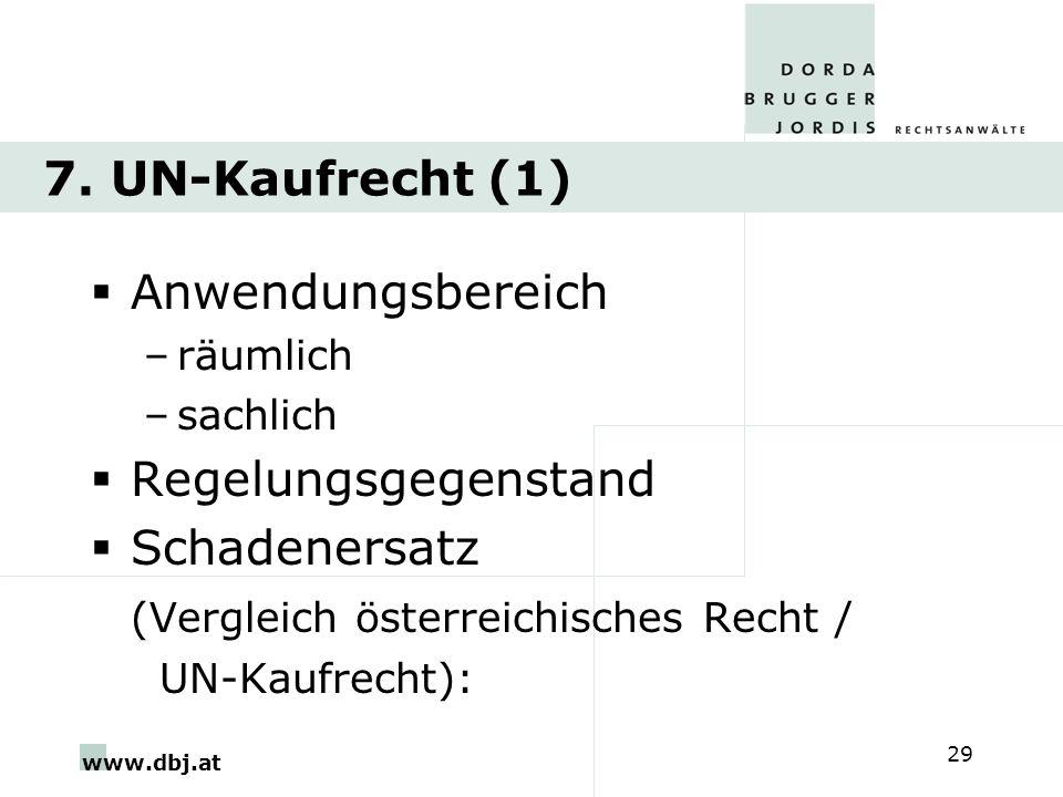 (Vergleich österreichisches Recht /
