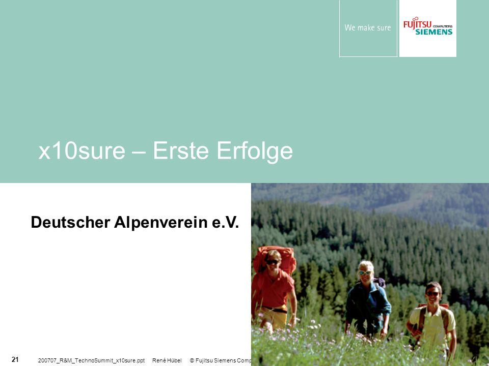 x10sure – Erste Erfolge Deutscher Alpenverein e.V.