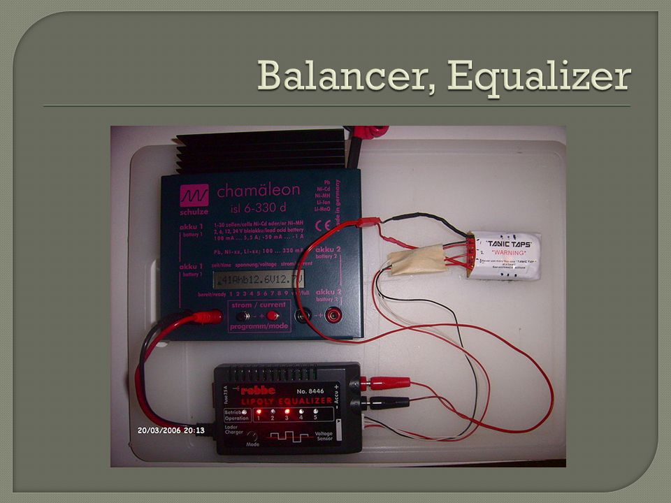 Balancer, Equalizer