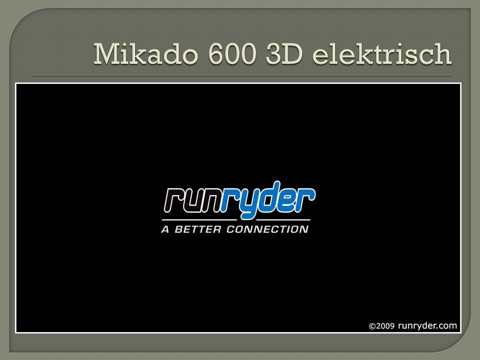 Mikado 600 3D elektrisch