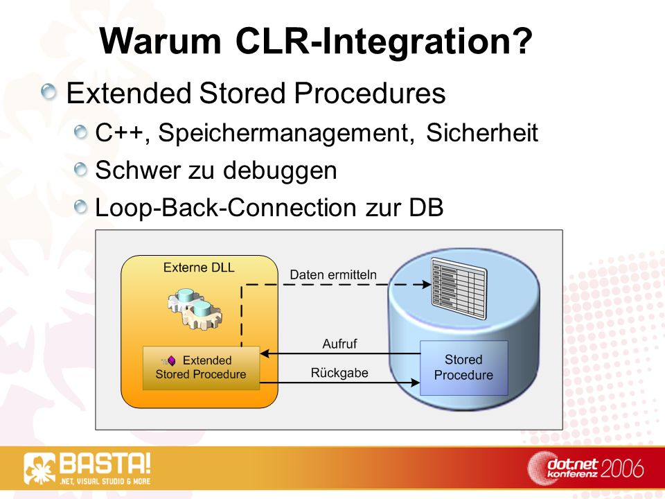 Warum CLR-Integration