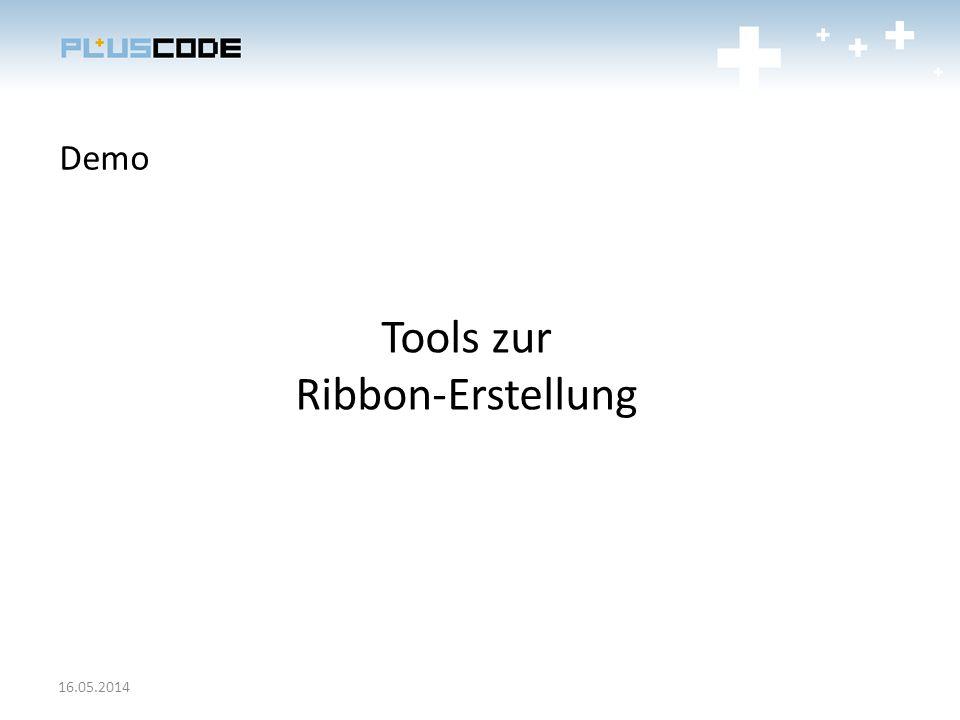 Tools zur Ribbon-Erstellung