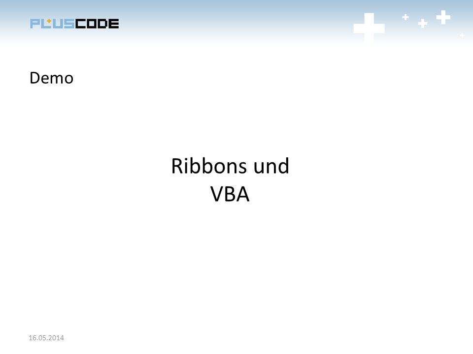 Demo Ribbons und VBA 28.03.2017