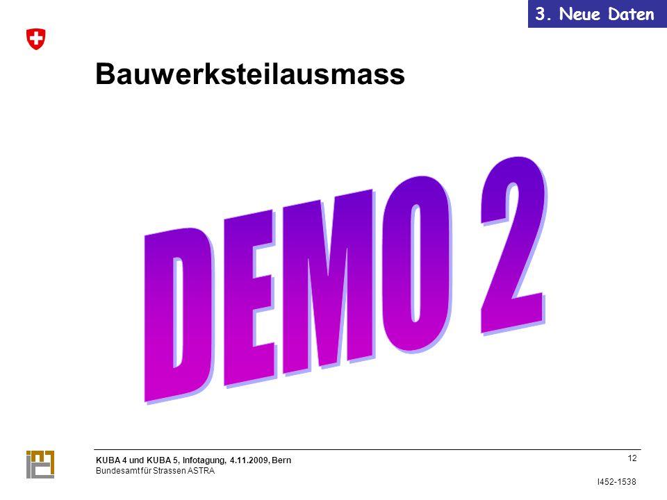 3. Neue Daten Bauwerksteilausmass DEMO 2