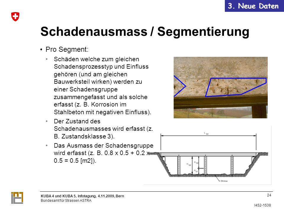 Schadenausmass / Segmentierung