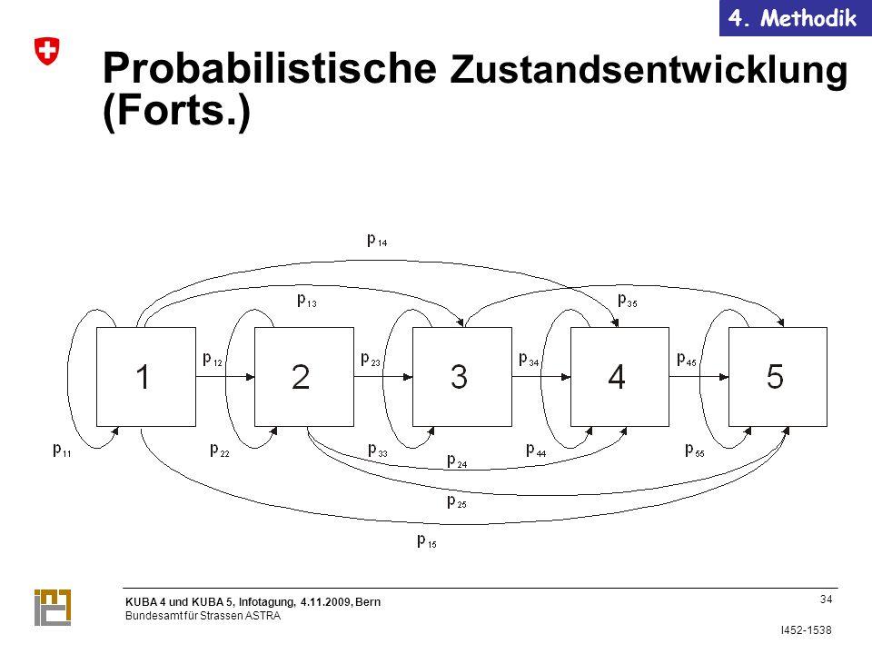 Probabilistische Zustandsentwicklung (Forts.)