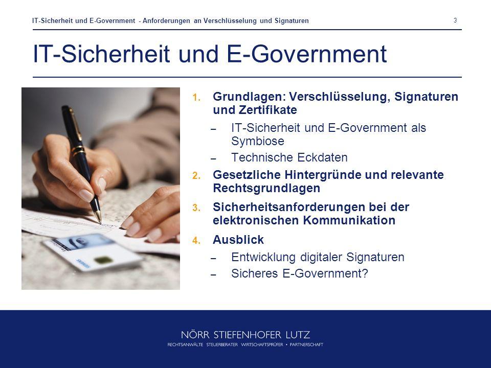 IT-Sicherheit und E-Government