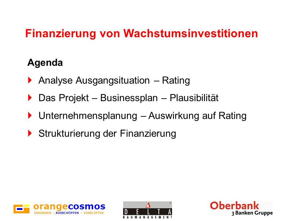 Finanzierung von Wachstumsinvestitionen