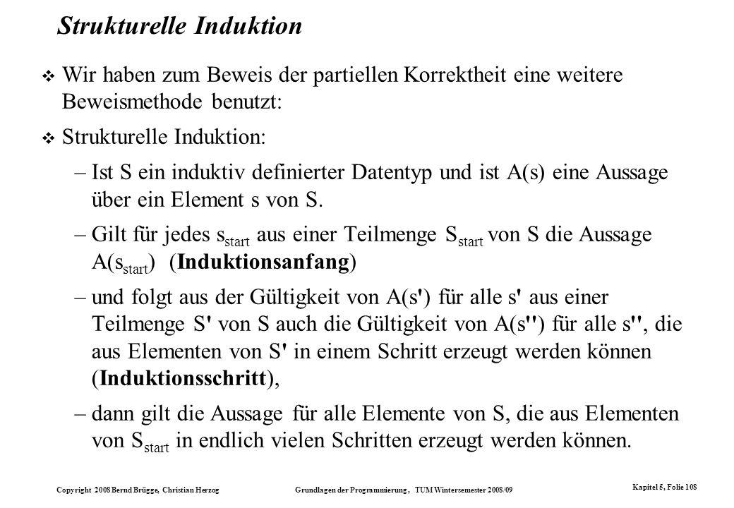 Strukturelle Induktion