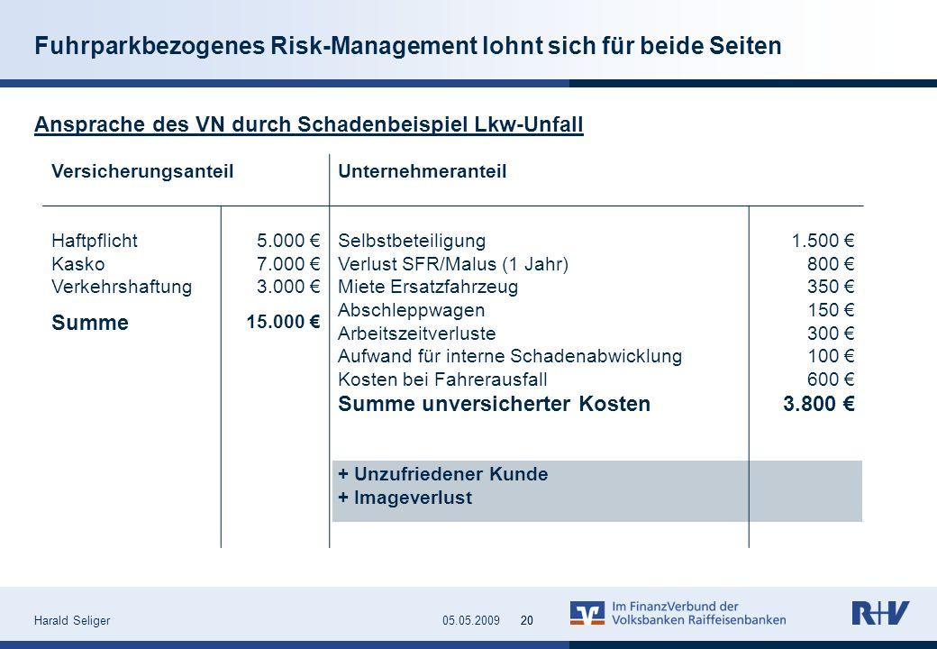 Fuhrparkbezogenes Risk-Management lohnt sich für beide Seiten