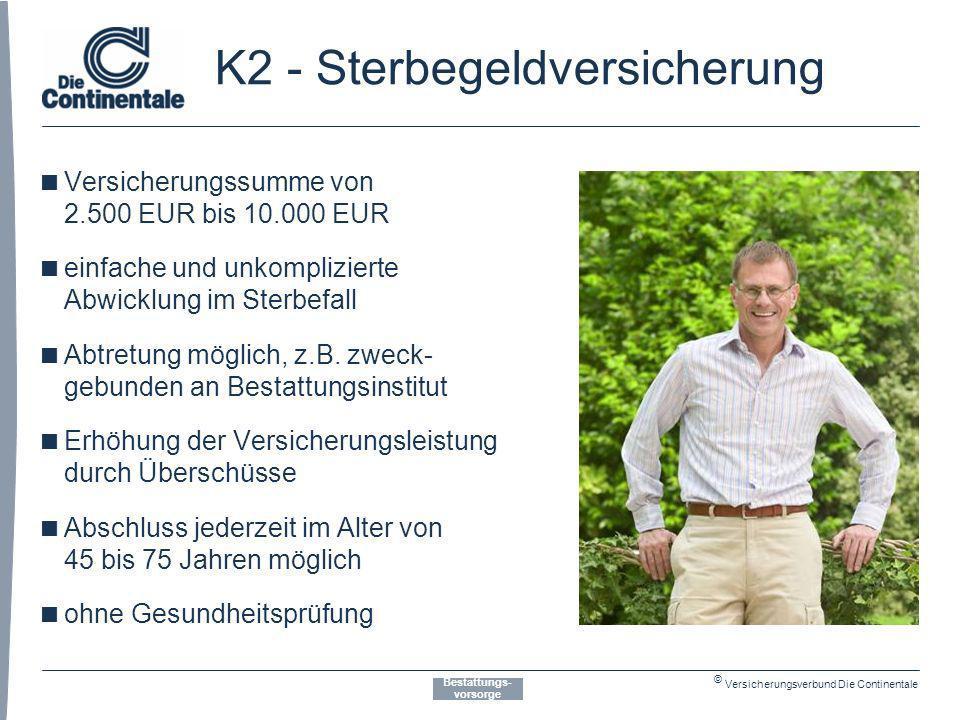 K2 - Sterbegeldversicherung