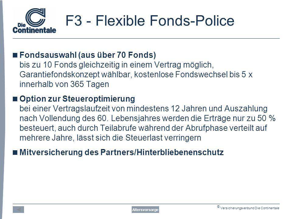 F3 - Flexible Fonds-Police