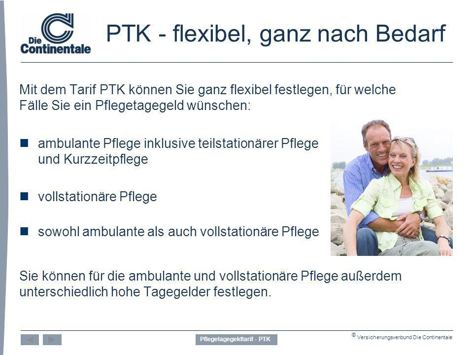 PTK - flexibel, ganz nach Bedarf
