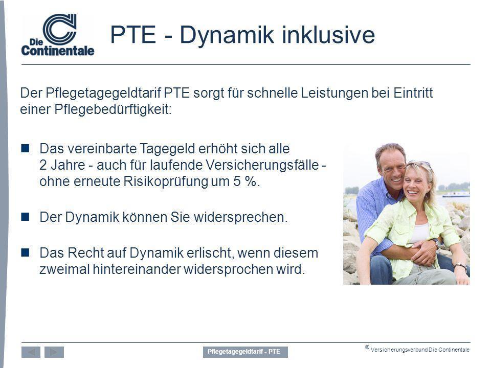 PTE - Dynamik inklusive